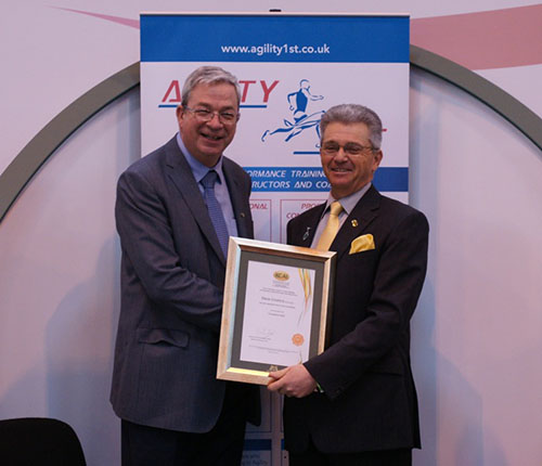 Steve Croxford Achieves KCAI Accreditation