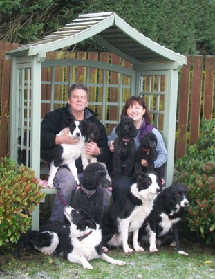 Pete and Tricia Elms Achieve an Agility1st for Scotland